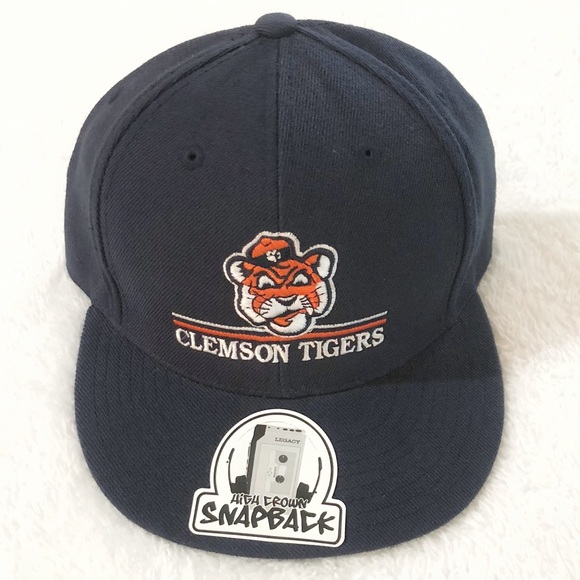 bcddefabfd6 Men s Clemson Tiger OG SnapBack Navy Hat